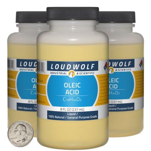 Oleic Acid - 24 Fluid Ounces in 3 Bottles
