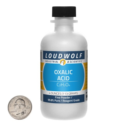 Oxalic Acid  - 4 Ounces in 1 Bottle