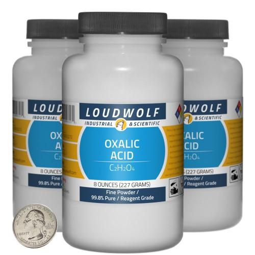 Oxalic Acid  - 1.5 Pounds in 3 Bottles