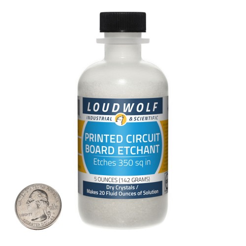 Printed Circuit Board Etchant - 5 Ounces in 1 Bottle