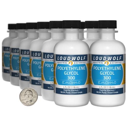 Polyethylene Glycol  300 - 48 Fluid Ounces in 12 Bottles