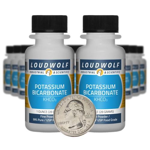 Potassium Bicarbonate - 1.3 Pounds in 20 Bottles
