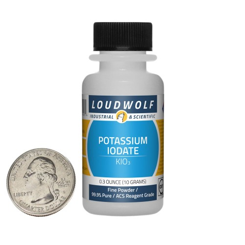 Potassium Iodate - 0.3 Ounces in 1 Bottle