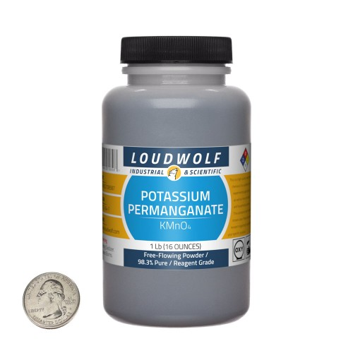 Potassium Permanganate - 1 Pound in 1 Bottle