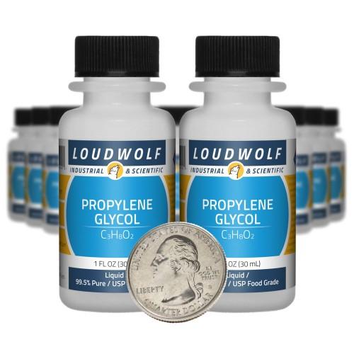Propylene Glycol - 20 Fluid Ounces in 20 Bottles
