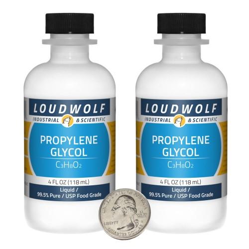 Propylene Glycol - 8 Fluid Ounces in 2 Bottles