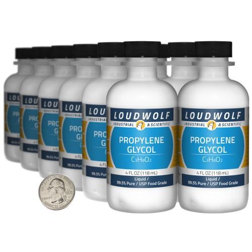 Propylene Glycol - 48 Fluid Ounces in 12 Bottles