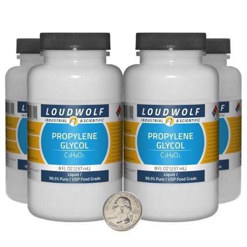 Propylene Glycol - 32 Fluid Ounces in 4 Bottles