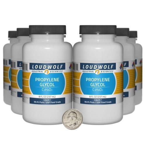 Propylene Glycol - 48 Fluid Ounces in 6 Bottles