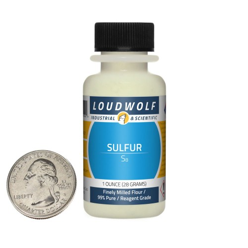 Sulfur - 1 Ounce in 1 Bottle