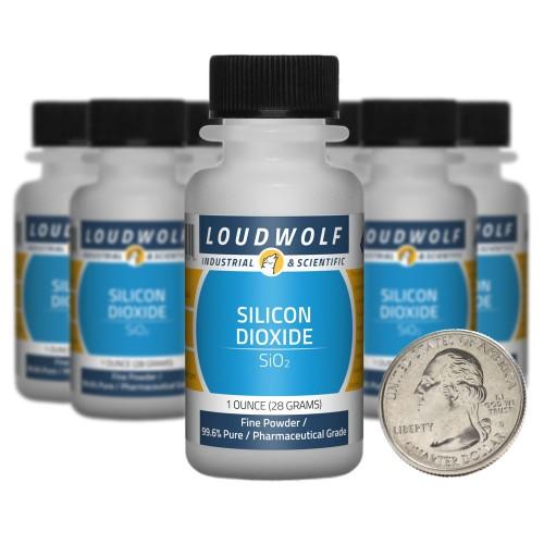 Silicon Dioxide - 10 Ounces in 10 Bottles