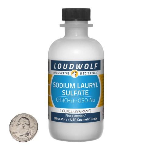 Sodium Lauryl Sulfate - 1 Ounce in 1 Bottle