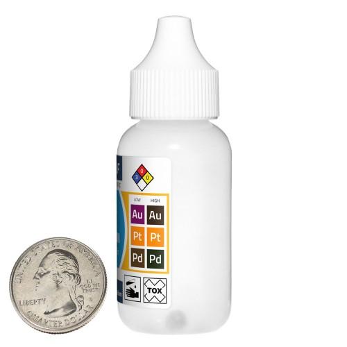 Gold Test Solution - 10 Fluid Ounces in 10 Bottles