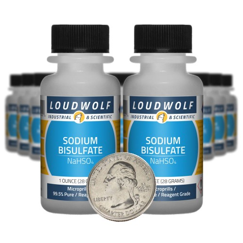 Sodium Bisulfate - 1.3 Pounds in 20 Bottles