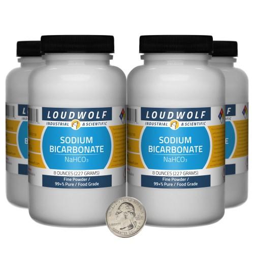 Sodium Bicarbonate - 2 Pounds in 4 Bottles