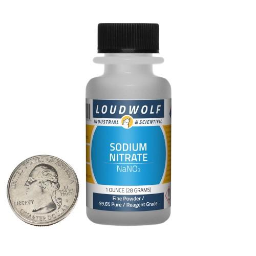 Sodium Nitrate - 1 Ounce in 1 Bottle