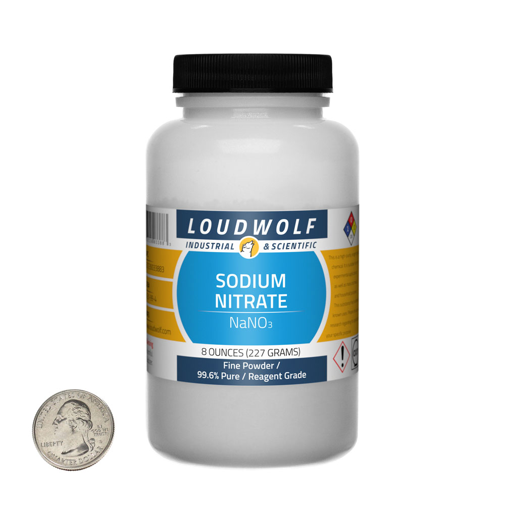 Sodium Nitrate - 8 Ounces in 1 Bottle