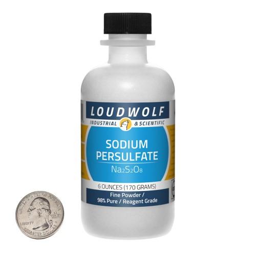 Sodium Persulfate - 6 Ounces in 1 Bottle
