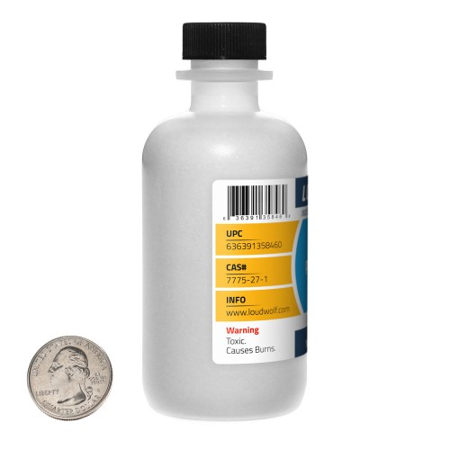 Sodium Persulfate - 6 Ounces in 1 Bottle