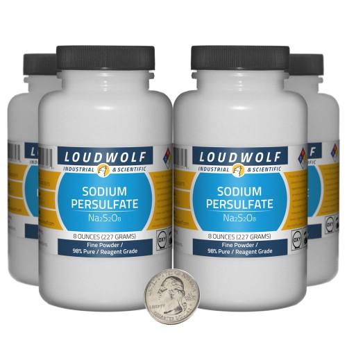 Sodium Persulfate - 2 Pounds in 4 Bottles