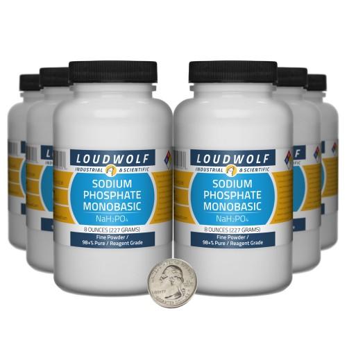 Sodium Phosphate Monobasic - 3 Pounds in 6 Bottles