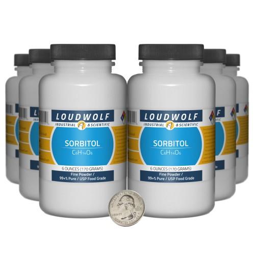 Sorbitol - 2.3 Pounds in 6 Bottles