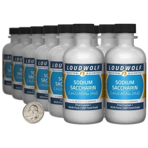 Sodium Saccharin - 3 Pounds in 12 Bottles