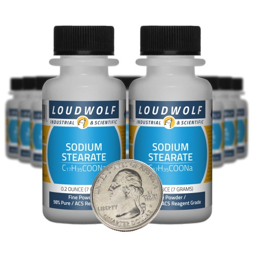 Sodium Stearate - 5 Ounces in 20 Bottles