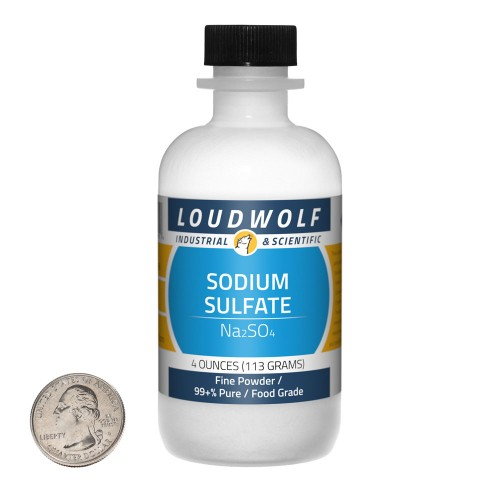 Sodium Sulfate - 4 Ounces in 1 Bottle