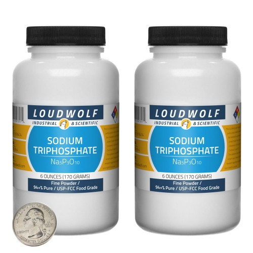 Sodium Triphosphate - 12 Ounces in 2 Bottles