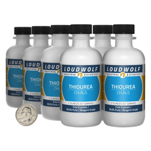 Thiourea - 1 Pound in 8 Bottles