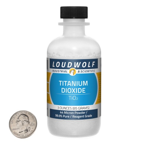 Titanium Dioxide - 3 Ounces in 1 Bottle