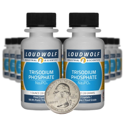 Trisodium Phosphate - 1.3 Pounds in 20 Bottles
