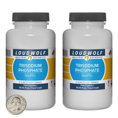 Trisodium Phosphate - 1 Pound in 2 Bottles