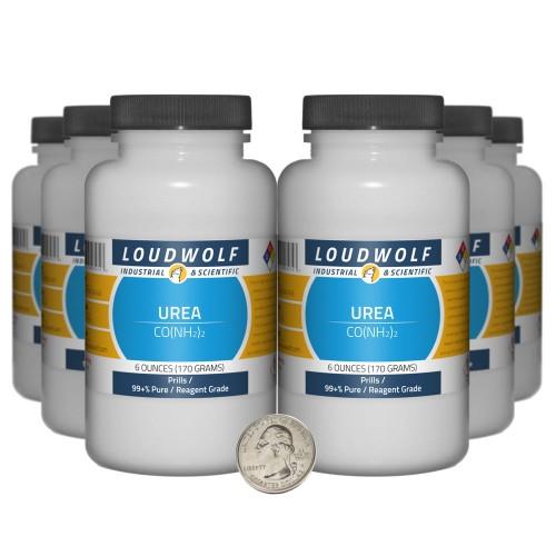 Urea - 2.3 Pounds in 6 Bottles