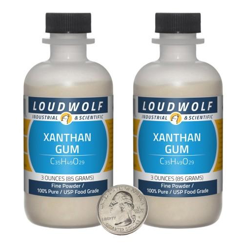 Xanthan Gum - 6 Ounces in 2 Bottles