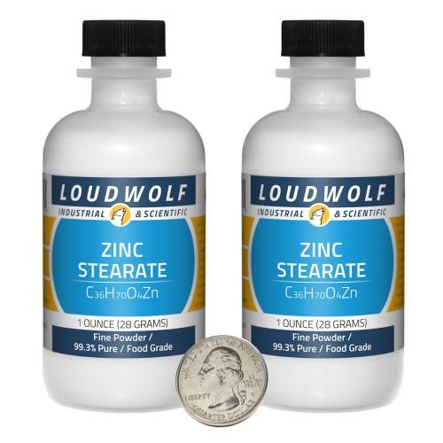 Zinc Stearate - 2 Ounces in 2 Bottles